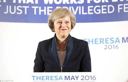 Bà Theresa May trở thành tân Thủ tướng Anh ảnh 1