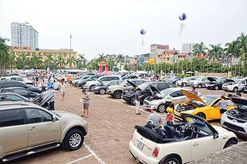 Chợ ô tô - Mô hình kinh doanh mới ảnh 1