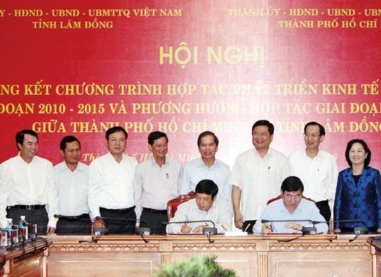 Lâm Đồng cung ứng thực phẩm sạch cho TPHCM ảnh 1