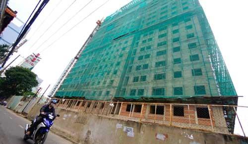 77 dự án nhà ở TPHCM đang cắm ngân hàng ảnh 1