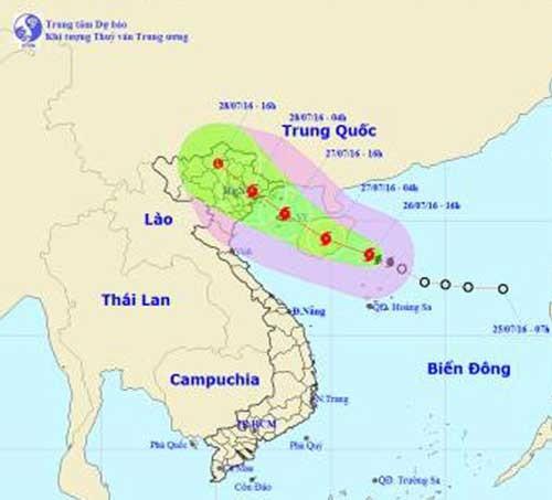 Bão số 1 áp sát đất liền Việt Nam ảnh 1