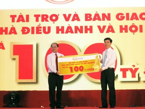 Him Lam khánh thành trường 600 tỷ đồng ảnh 1