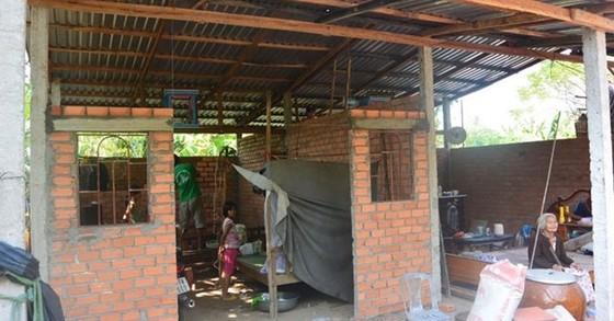 Ồ ạt xây nhà tạm chờ đền bù dự án cảng biển ảnh 1