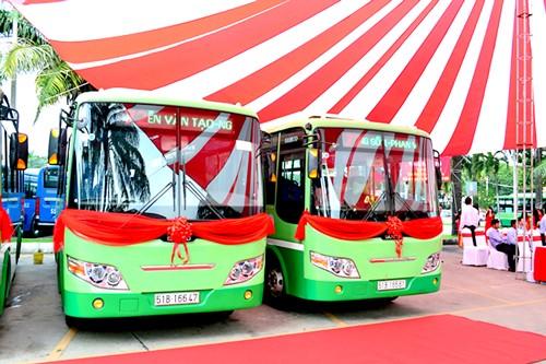 TPHCM tiếp tục thay mới 43 xe buýt ảnh 1