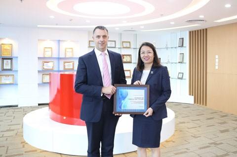 Maritime Bank đạt giải thưởng thanh toán quốc tế ảnh 1