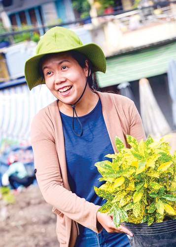 Biến bãi rác thành vườn hoa ảnh 1