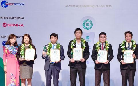 Hoa Sen top 5 DNNY hoạt động IR tốt nhất 2016 ảnh 1