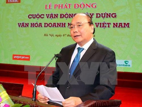 """Phát động """"Xây dựng văn hóa DN Việt Nam"""" ảnh 1"""