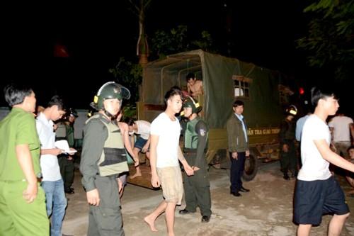 133 học viên cai nghiện Đồng Nai phá trại ảnh 1