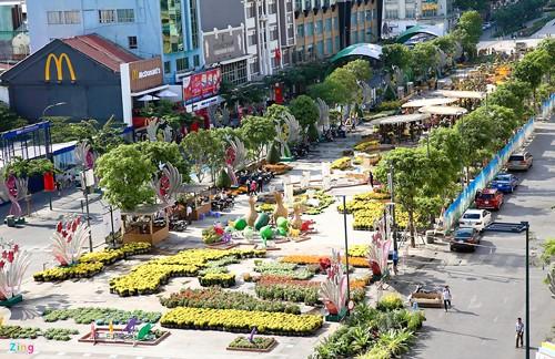 Khai mạc đường hoa Nguyễn Huệ vào 28 tết ảnh 1