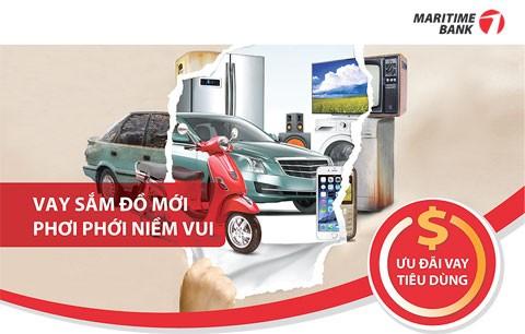 Maritime Bank nhiều ưu đãi cho vay tiêu dùng ảnh 1