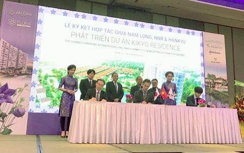 Nam Long và 2 đối tác Nhật phát triển dự án Kikyo Residence ảnh 1