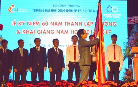 Kỷ niệm 60 năm thành lập ĐH Công nghiệp TPHCM ảnh 1