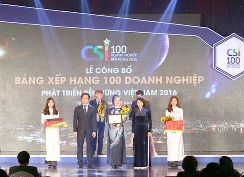 SASCO top 10 DN Phát triển Bền vững ảnh 1