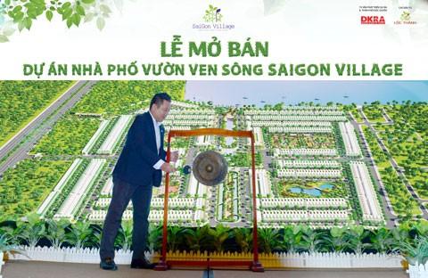 Nhà phố vườn SaiGon Village đón 450 cư dân đầu tiên ảnh 2