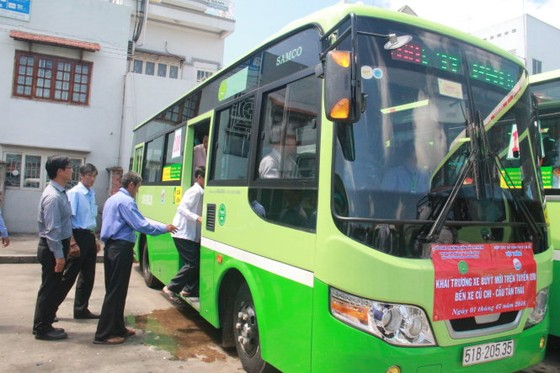 TPHCM tiếp tục thay mới 55 xe buýt ảnh 1