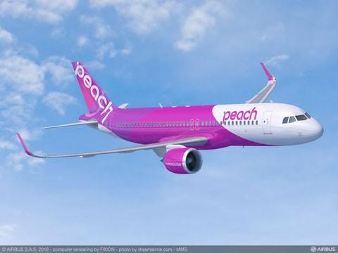 Peach Aviation đặt mua 13 máy bay A320 ảnh 1