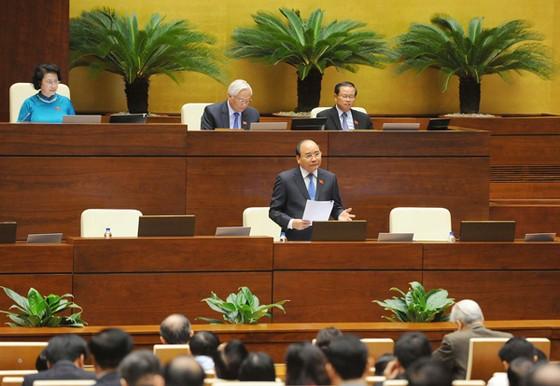 Thủ tướng trả lời chất vấn ĐBQH về 4 nhóm vấn đề ảnh 1