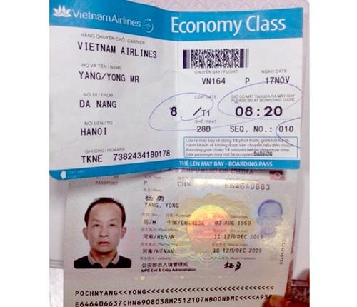 Hành khách Trung Quốc trộm đồ trên máy bay ảnh 1
