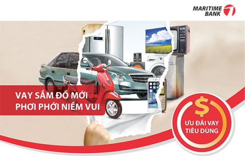 Maritime Bank ưu đãi trả góp qua thẻ tín dụng ảnh 1