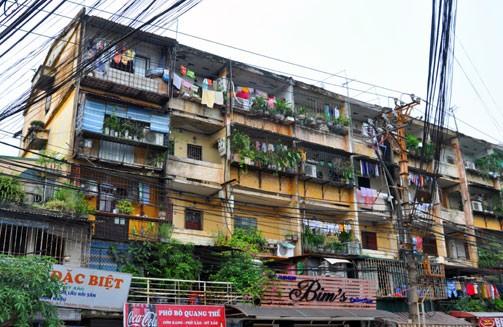 Gian nan cải tạo chung cư cũ ảnh 1