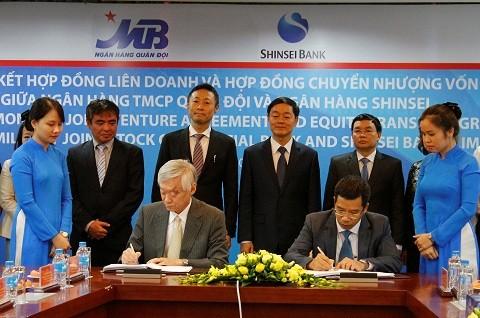 MB – Shinsei Bank ký hợp đồng liên doanh tài chính tiêu dùng ảnh 1