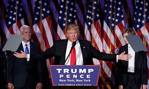 Người Mỹ lạc quan về Tổng thống đắc cử D.Trump ảnh 1