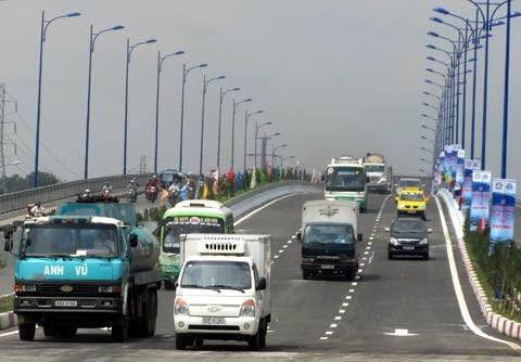 Từ 1-6 thu phí giao thông qua cầu Rạch Chiếc ảnh 1
