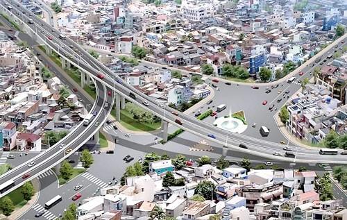 Nan giải dự án đường trên cao ảnh 1