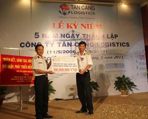 Tân Cảng Logistics kỷ niệm 5 năm thành lập ảnh 1