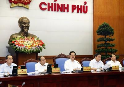 Chính phủ họp phiên thường kỳ tháng 10 ảnh 1