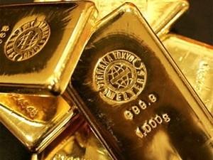 USD rơi xuống mức thấp đẩy giá vàng đi lên ảnh 1