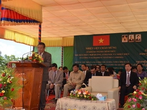 Việt Nam đầu tư nhà máy đường lớn nhất Campuchia ảnh 1