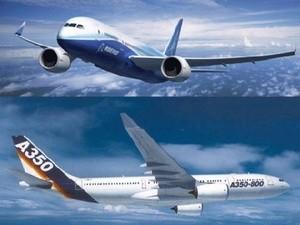 """Boeing và Airbus """"bội thu"""" đơn đặt hàng ảnh 1"""