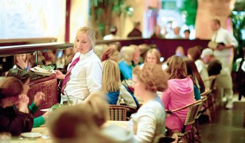Nhà hàng - Dấu chỉ kinh tế ảnh 1