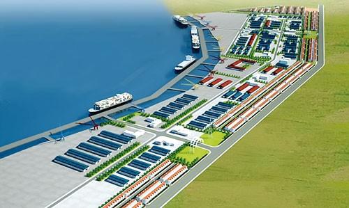 """KCN-Cầu cảng Phước Đông"""": Nhà thầu """"đấu"""" chủ đầu tư ảnh 1"""