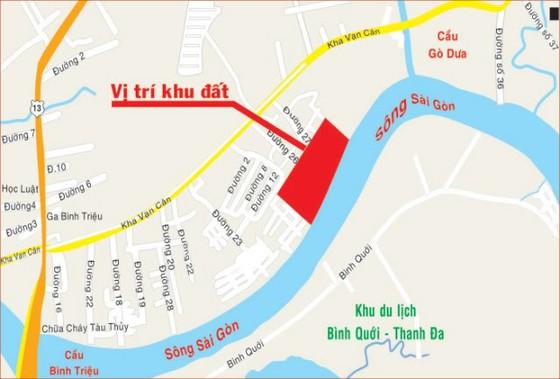 Duyệt đồ án quy hoạch Saigonres Riverside Thủ Đức ảnh 1