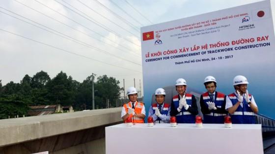 Khởi công xây lắp hệ thống đường ray tuyến Metro Bến Thành - Suối Tiên ảnh 1