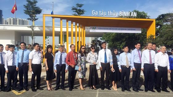 Tuyến buýt sông đầu tiên ở TPHCM chính thức hoạt động ảnh 3