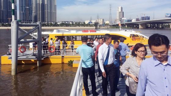 Tuyến buýt sông đầu tiên ở TPHCM chính thức hoạt động ảnh 2