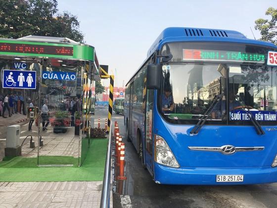 TPHCM đưa vào hoạt động trạm điều hành xe buýt mới Bến Thành ảnh 1