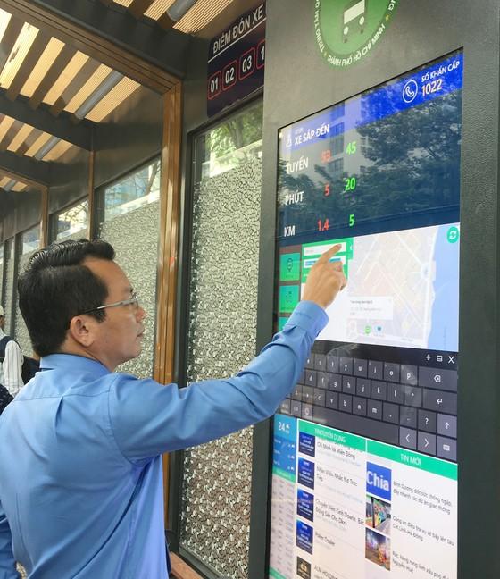 TPHCM đưa vào hoạt động trạm điều hành xe buýt mới Bến Thành ảnh 3