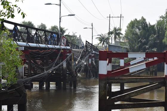 Cầu Long Kiển bị sập được khắc phục xong trước Tết Nguyên đán 2018 ảnh 1