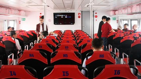 Đưa vào hoạt động tuyến tàu cao tốc du lịch Bến Bạch Đằng - Cần Giờ - Vũng Tàu  ảnh 4