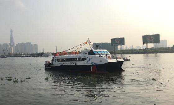 Đưa vào hoạt động tuyến tàu cao tốc du lịch Bến Bạch Đằng - Cần Giờ - Vũng Tàu  ảnh 2