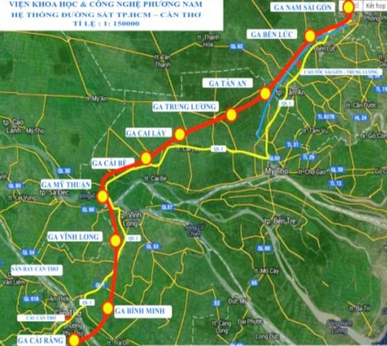 5 tỷ USD xây dựng tuyến đường sắt tốc độ cao TPHCM - Cần Thơ ảnh 1
