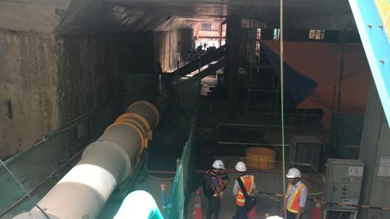 Tuyến metro Bến Thành - Suối Tiên hoàn thành hai tuyến khoan ngầm ảnh 1