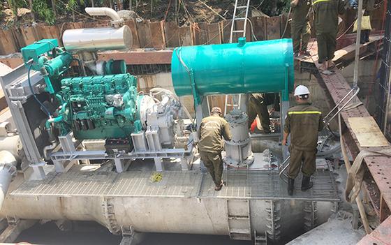Thuê máy bơm chống ngập đường Nguyễn Hữu Cảnh gần 10 tỷ đồng/năm ảnh 1