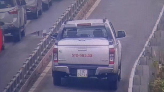 Xử lý nghiêm xe ô tô lưu thông vào làn xe gắn máy trên cao tốc TPHCM - Long Thành ảnh 1