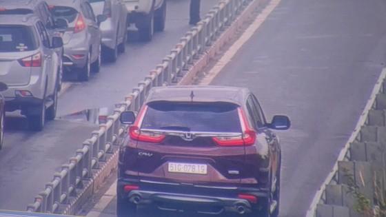 Xử lý nghiêm xe ô tô lưu thông vào làn xe gắn máy trên cao tốc TPHCM - Long Thành ảnh 2